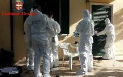 I Ris dei carabinieri a Villa Adua a Potassa di Gavorrano
