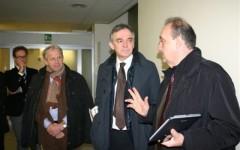 Il Presidente Rossi in visita al nosocomio lucchese