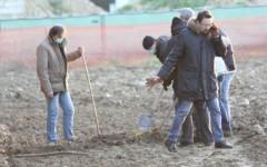 Il campo di Iolo dove è stato trovato il cadavere