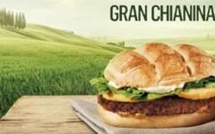 La pubblicità contestata dal comune di San Quirico d'Orcia