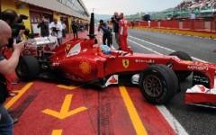 F.1 Ferrari, Massa saluta i tifosi al Mugello