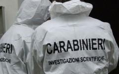 Sono intervenuti i Carabinieri della sezione scientifica