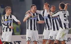 Festeggia l'Udinese che vince a Livorno