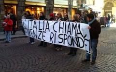 Il corteo del «forconi» a Firenze 2