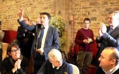 Il saluto del sindaco Renzi agli anziani