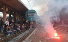 La protesta dei Forconi, treno soppresso a Livorno