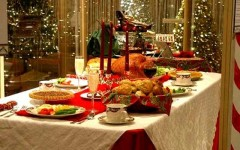 Natale, si festeggia a casa