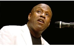 Nehemiah Brown in concerto sul Ponte Vecchio