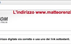 Attacco hacker, oscurato il sito internet di Renzi