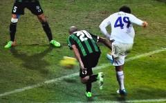 Il tiro con cui Rossi segna il gol decisivo