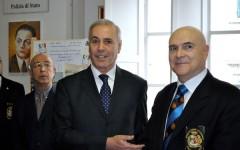 Il questore Raffaele Micillo (a sin:) e il presidente Sergio Tinti