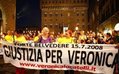 Una fiaccolata per ricordare Veronica Locatelli