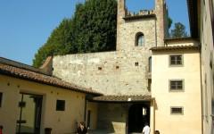 Il castello dell'Acciaiolo a Scandicci, una delle mete delle visite di Primavera del Fai