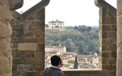 Il panorama di Firenze da Palazzo Vecchio