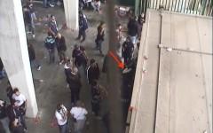 Il furto in un bar dello stadio Franchi del 20 ottobre 2013