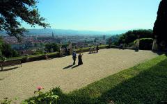Vista terrazza Giardino Bardini