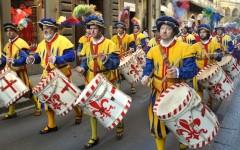 Firenze, giugno 2014 fra i sessant'anni dell'alta moda e il calcio storico
