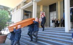 I funerali di Marcello Giannini alla Chiesa dei Santi Fiorentini