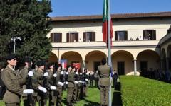 La cerimonia per il 153° anniversario dell'Esercito Italiano