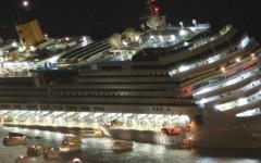 Scene di panico a bordo durante il naufragio della Concordia