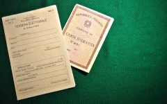Tessera elettorale e carta identità