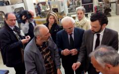 La visita ai nuovi laboratori dell'ISIS Leonardo Da Vinci