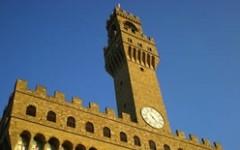 Firenze: Renzi porta Muscat, premier di Malta, sulla Torre d'Arnolfo di Palazzo Vecchio