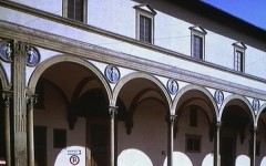 (Filippo) Brunelleschi Ospedale degli Innocenti, 1421 k. Firenze(2)