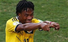Mondiali 2014:  Cuadrado finora è stato il migliore fra gli stranieri d'Italia