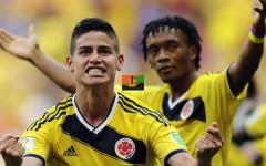 Mondiali 2014: la Colombia di Cuadrado stende l'Uruguay (2-0) e vola ai quarti. Contro il Brasile