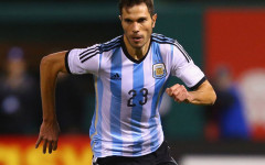 Josè Maria Basanta con la maglia dell'Argentina