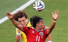 Brasile-Colombia, Juan Cuadrado (a destra)