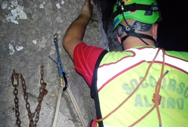 Licciana Nardi (Massa): Salvato e riportato a valle il geologo escursionista disperso