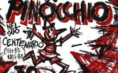 A Collodi, l'«incontro» tra Vinicio Berti e Pinocchio