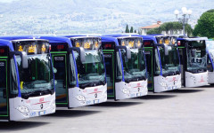 Firenze, pronti 30 nuovi bus a due porte «anti-portoghesi»