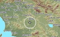 Scossa di terremoto nel senese