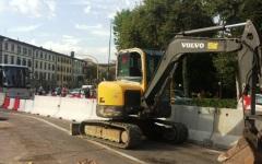 Firenze, lavori per la tramvia: cantiere più invasivo in via Gordigiani