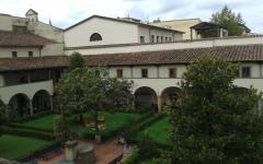 Firenze: Maurizio Donadoni e Fulvio Cauteruccio a Santa Verdiana per «Nel chiostro delle geometrie»