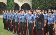 Carabinieri, per la sicurezza a Firenze anche l'occhio vigile di 400 allievi marescialli