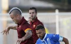 La Roma vince su autorete (0-1). L'Empoli s'arrabbia per un rigore negato. Espulso Sarri. Pagelle