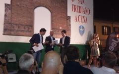 Firenze, San Frediano: Torrino d'oro alla Misericordia e a Borja Valero. Targa speciale a Sandro Bennucci, direttore di FirenzePost