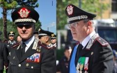I generali Emanuele Saltalamacchia e Alberto Mosca