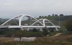 Terranuova Bracciolini: inaugurato Leonardo, nuovo ponte sull'Arno firmato dallo spagnolo Fernandez Casado