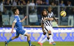 L'Empoli ci prova, la Juventus vince: 0-2. Gol di Pirlo e Morata