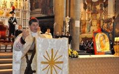 Il Cardinale Giuseppe Betori alla celebrazione della Virgo Fidelis