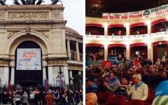#NonStiamoSereni: la protesta dei pensionati contro Matteo Renzi