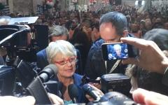 Pensioni e lavoro: sindacati davanti alle prefetture, a Firenze Anna Maria Furlan (Cisl)