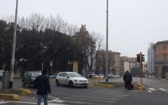 Firenze: primi fiocchi (deboli) di neve in città
