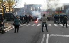 Firenze: Piagge, incidenti per i cortei degli Antagonisti e di Forza Nuova. Feriti 4 carabinieri, 3 poliziotti  e un manifestante