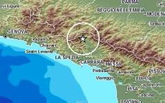 Lunigiana, nuova scossa di terremoto di 2,1 gradi di magnitudo